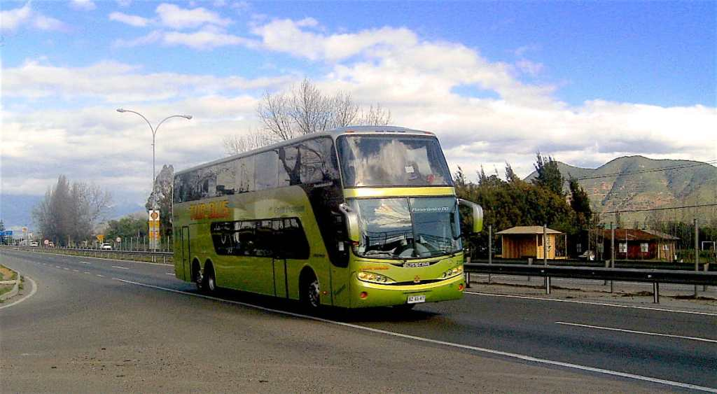 Typical Chilean bus