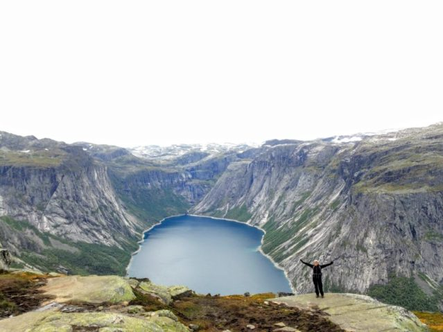 View Lake Trolltunga Norway