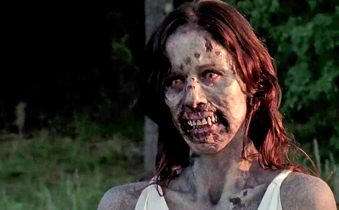 Cena deletada da terceira temporada de The Walking Dead mostra Lori Zumbi