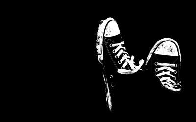 Cool Shoes Wallpaper Black And White #12871 Wallpaper | WallDiskPaper