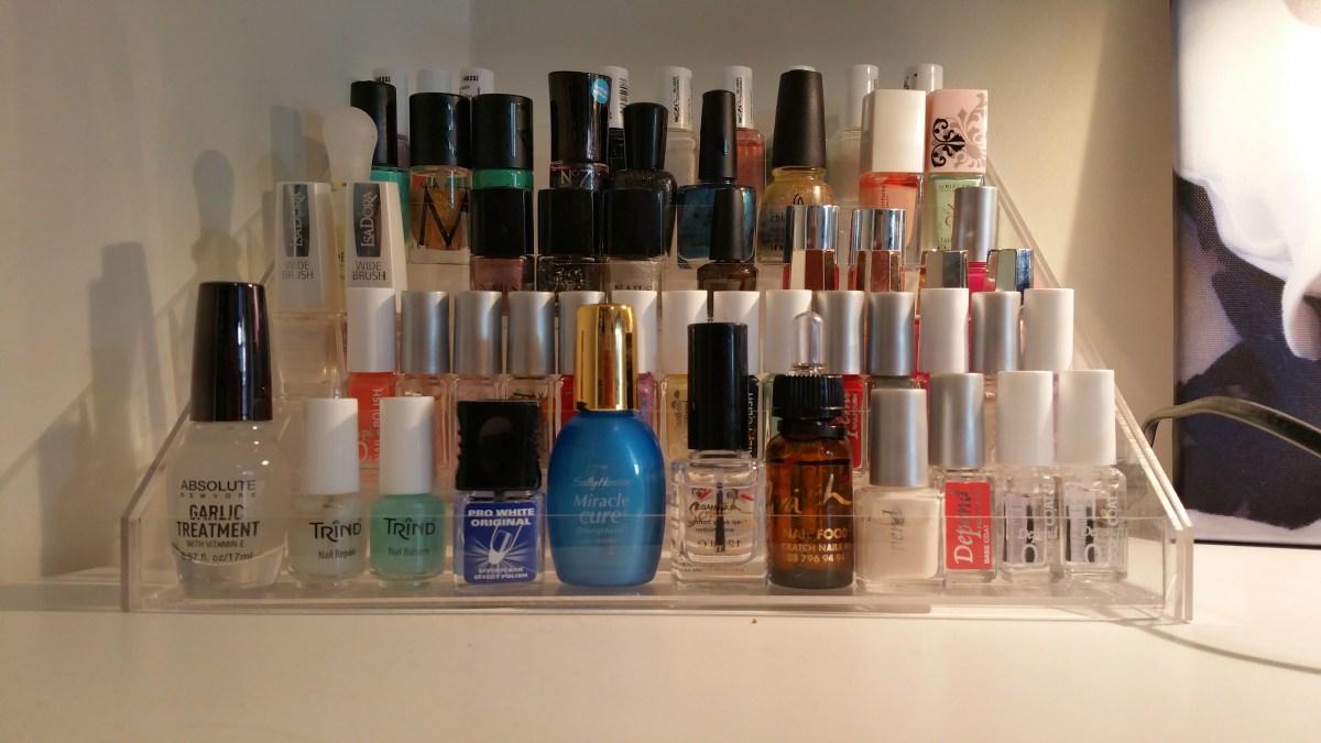 Den perfekta nagellackshyllan