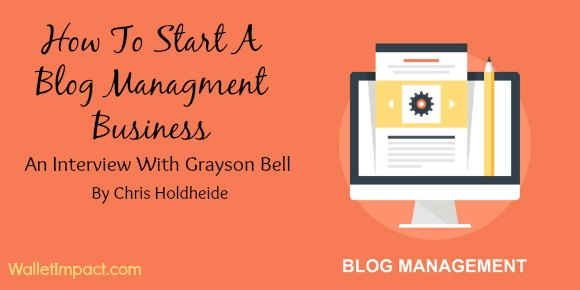 blog management side hustle