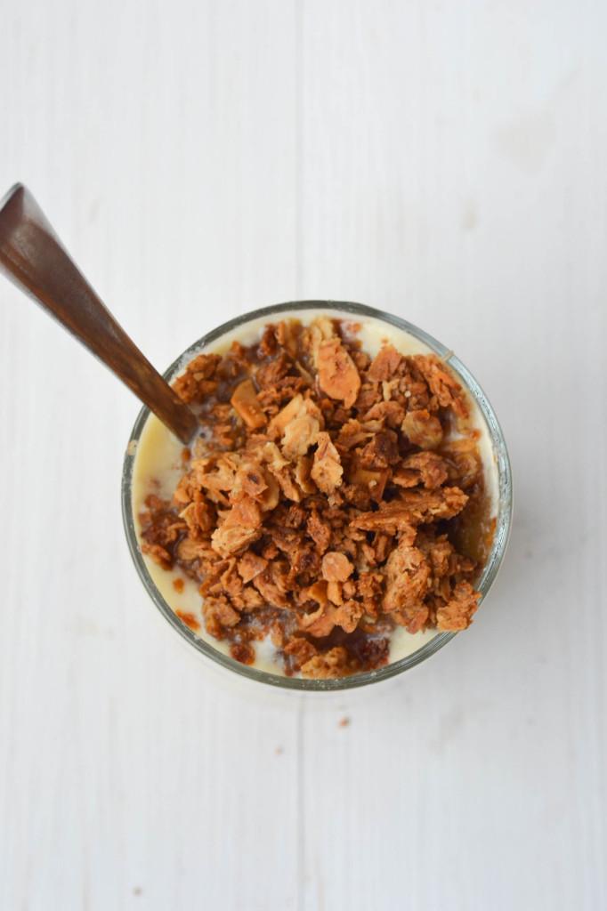Deliciously Golden Honey Nut Granola