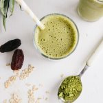 Pineapple & Matcha Oat Smoothie