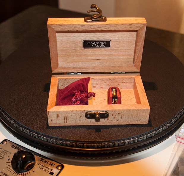 In its' handsome wood box. Photo by Mark Morris.