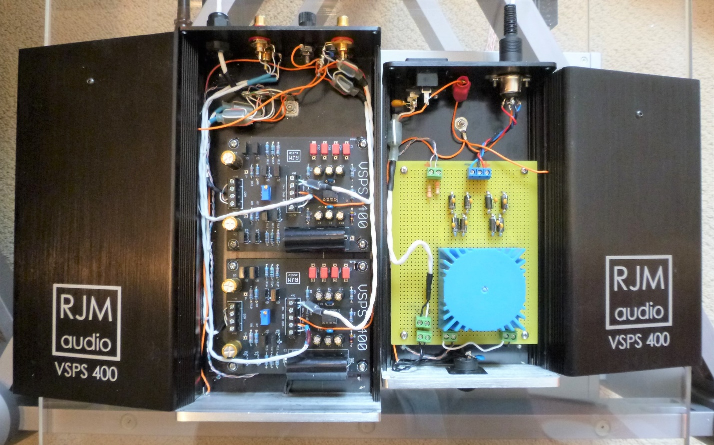 Review Rjm Audio Vsps 400 Phono Stage Wall Of Sound And Cartridge Wiring A