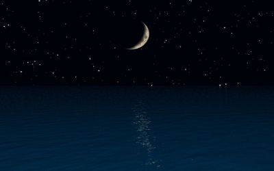 Ocean Moon Wallpapers - Top Free Ocean Moon Backgrounds - WallpaperAccess
