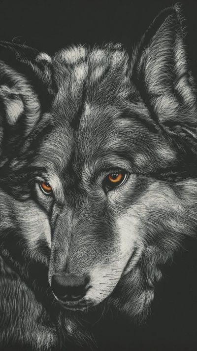 Wolf iPhone Wallpapers - Top Free Wolf iPhone Backgrounds - WallpaperAccess
