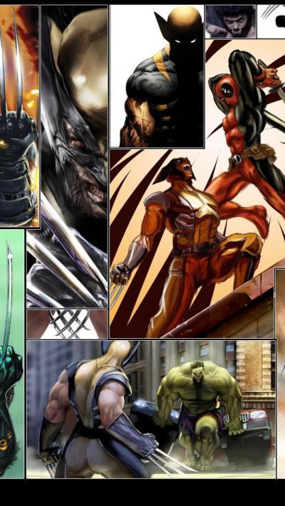67 Best Free Wolverine vs Deadpool Wallpapers - WallpaperAccess