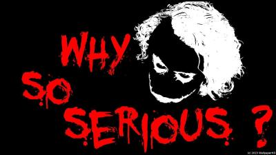 Joker Why So Serious Wallpapers - Wallpaper Cave