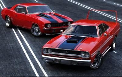 Cool Muscle Car Wallpapers - Wallpaper Cave