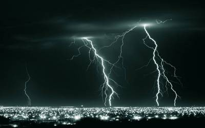 Lightning Storm Wallpapers - Wallpaper Cave