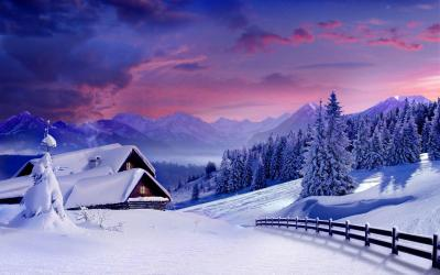 Cool Winter Backgrounds - Wallpaper Cave