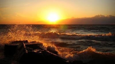 Ocean Sunset Wallpapers - Wallpaper Cave