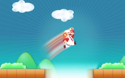8 Bit Mario Wallpapers - Wallpaper Cave