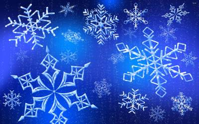 Snowflake Wallpapers - Wallpaper Cave