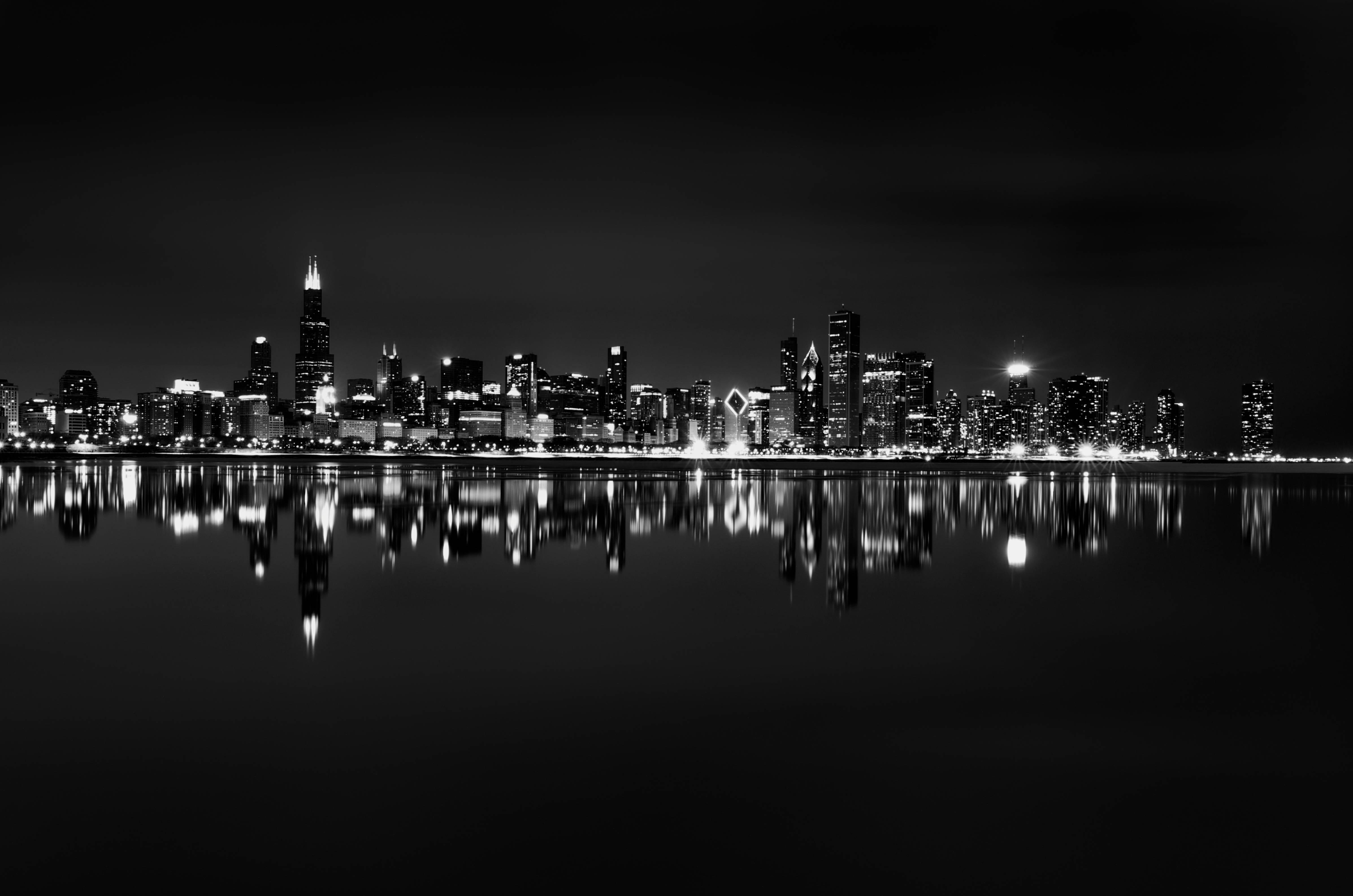 Fullsize Of Chicago Skyline Wallpaper