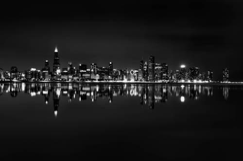 Medium Of Chicago Skyline Wallpaper
