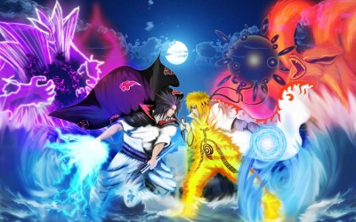 Naruto Vs Sasuke Wallpapers - Wallpaper Cave