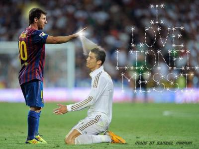 Cristiano Ronaldo Vs Lionel Messi 2016 Wallpapers - Wallpaper Cave