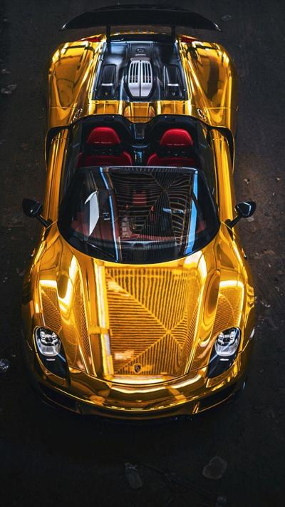 Gold Cars Wallpapers - Wallpaper Cave