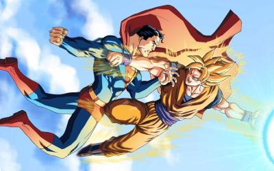 Goku Vs Superman Wallpapers - Wallpaper Cave
