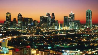 Dallas Skyline Wallpapers - Wallpaper Cave