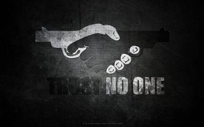 Trust No One Wallpapers - Wallpaper Cave