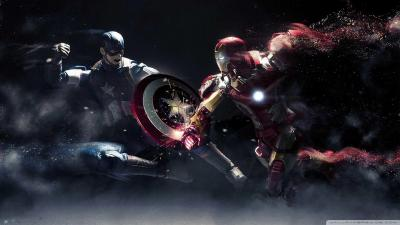 Iron Man Vs Captain America Wallpapers - Wallpaper Cave