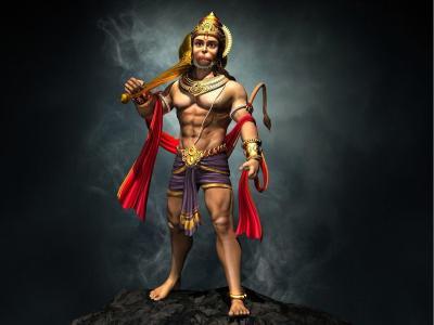 Lord Hanuman Wallpapers HD 3D - Wallpaper Cave