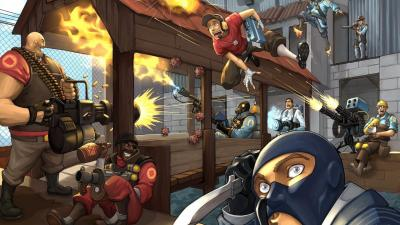 Team Fortress 2 Backgrounds - Wallpaper Cave