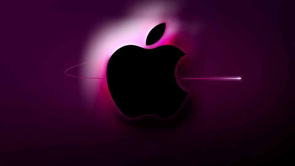 4k Wallpaper Of Apple Logo Floweryred2 Com