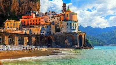 Amalfi Coast Positano HD Wallpaper - WallpaperFX