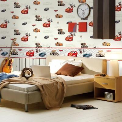 10 Wallpaper Dinding Kamar Anak Motif Cars - Nirwana Deco Jogja