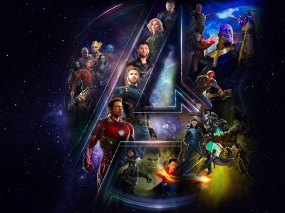 Cool Avengers Infinity War In A Logo Wallpaper Hd - DOWNLOAD FREE HD WALLPAPERS