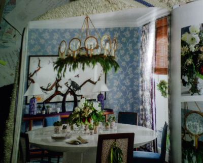 Wallpaper in Southern Living Magazine Decorating | Wallpaperlady's Blog