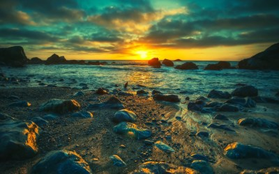 Ocean Best Landscape HD Background Wallpaper | WallpaperLepi