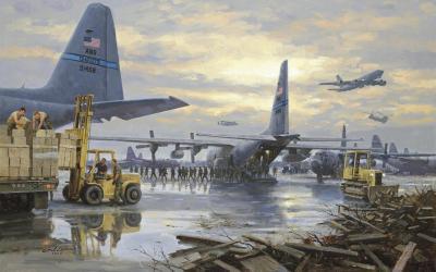 Lockheed C-130 Hercules Wallpaper HD Download