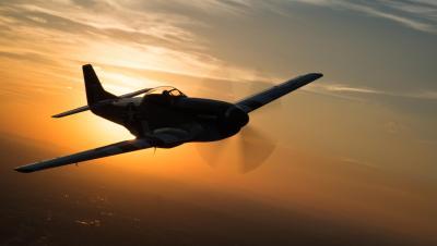 North American P-51 Mustang Wallpaper HD Download