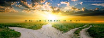 Do not Turn! | Christian Wallpapers