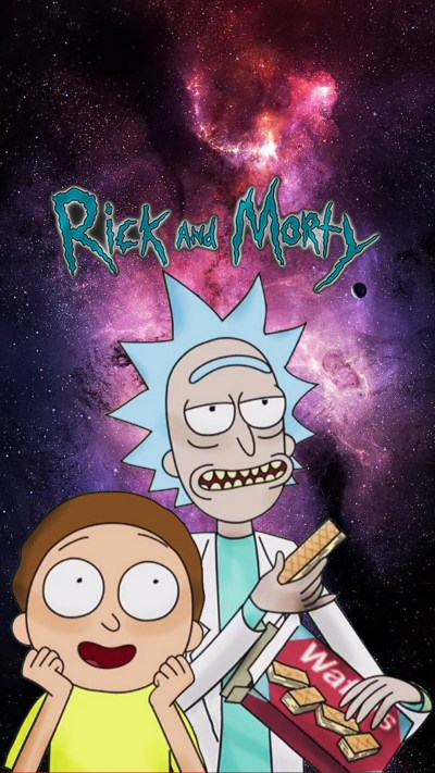 Rick and Morty iPhone 8 Wallpaper | 2019 Cute Wallpapers