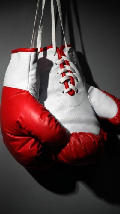 Wallpaper Boxing gloves, red, white, boxing, Sport #11067