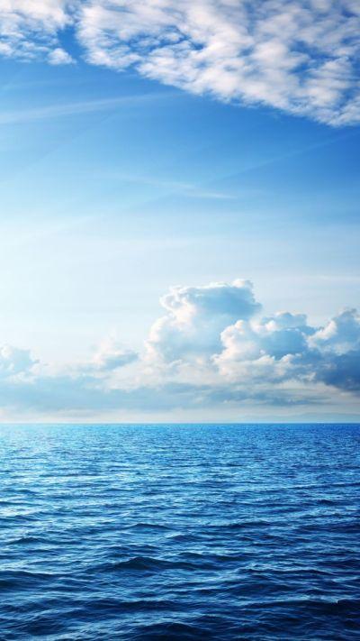 Wallpaper Sea, 5k, 4k wallpaper, ocean, sky, clouds, Nature #5257