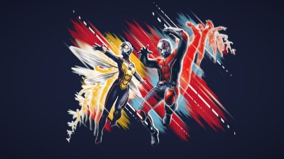 Wallpaper Ant-Man and the Wasp, poster, 4K, Movies #18841