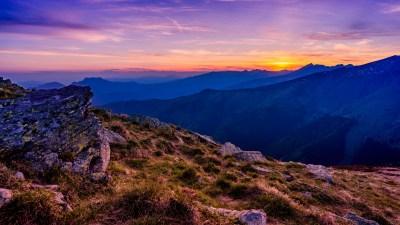 Wallpaper mountains, 5k, 4k wallpaper, 8k, clouds, sunset, Nature #12585