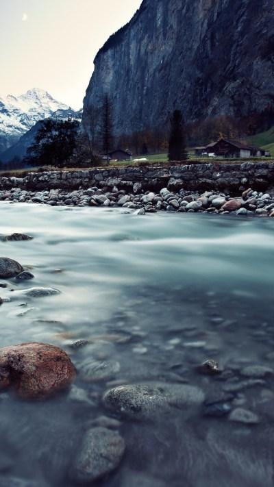 Wallpaper Switzerland, 4k, HD wallpaper, river, mountains, rocks, Nature #5706