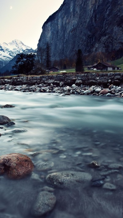 Wallpaper Switzerland, 4k, HD wallpaper, river, mountains, rocks, Nature #5706