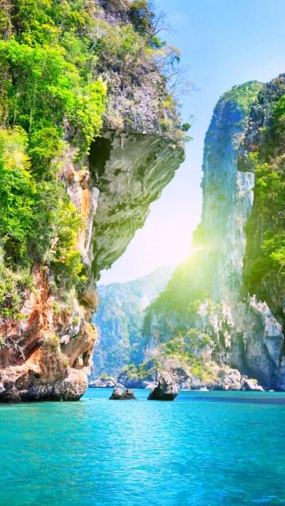 Wallpaper Thailand, 5k, 4k wallpaper, 8k, Pattaya, beach, ocean, mountains, World's best diving ...