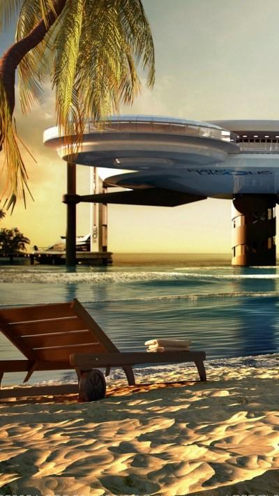 Wallpaper Water Discus Hotel, Dubai, sea, ocean, travel ...
