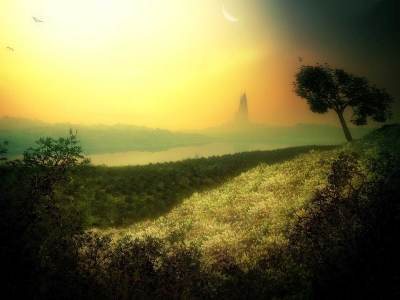 Distant mystic land wallpapers | Distant mystic land stock photos